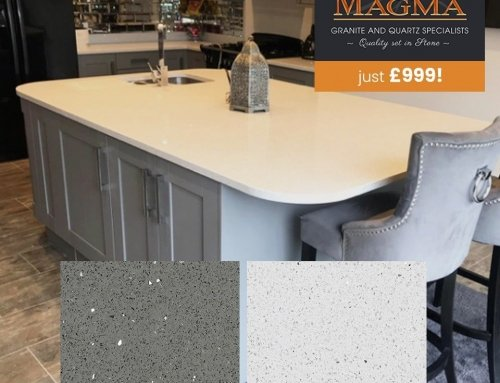*** WORKTOP OFFER *** Brand New Worktops for just £999!   Choose from 20mm Galaxy Grey or Galaxy White Quartz from our Magma Quartz Range   …