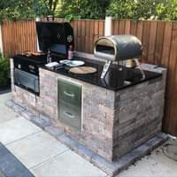 What gorgeous weather  No doubt there'll be some BBQ's on the go this evening    .  Granite is suitable for both outdoor and indoor use, so …